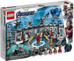 Đồ chơi LEGO Marvel Super Heroes 76125 - Bộ Sưu tập Giáp của Iron Man (LEGO  76125 Iron Man Hall of Armor)