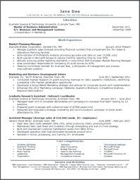 Hbs Resume Template Best Of Hbs Resume Marvelous Design Resume Templates For College Students