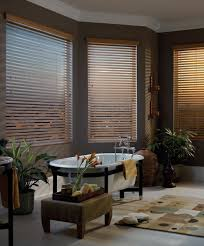 2 5 inch slats with either a 3 inch crown or a 3 5 inch royal crown these blinds are so beautifully crafted no one will know they are not real wood