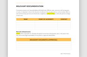 Easy To Use Construction Bid Template Free Downloadable