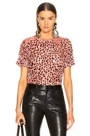 image 1 of rag bone gia top in pink rust