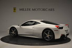The 458 replaced the f430, and was first officially unveiled at the 2009 frankfurt motor show. Pre Owned 2014 Ferrari 458 Italia For Sale Special Pricing Aston Martin Of Greenwich Stock 4538