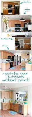 Update Oak Cabinets Best 25 Updating Oak Cabinets Ideas On Pinterest Painting Oak