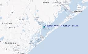 Alligator Point Tide Chart Alligator Point West Bay Texas Tide Station Location Guide