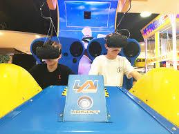 virtual rabbids the big ride on location