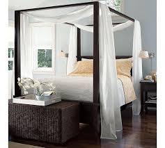 ☆Farmhouse Canopy Bed from Pottery Barn.