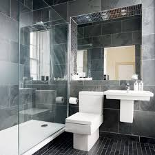 Bathroom Black And Grey Bathroom Tiles Stylish On In 30 Ideas Pictures 1  Black And Grey