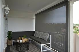 outdoor blinds weather proof wind proof