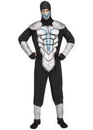 Ninja Suit Size Chart Lightning Ninja Man Costume Ninja Costumes New For 2019