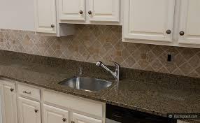 kitchen backsplash white cabinets brown countertop. PHOTO ID #: P6685| ITEM# HOME Kitchen Backsplash White Cabinets Brown Countertop H