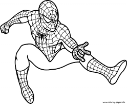 Small Picture Ultimate Spiderman Colouring Pages anfukco