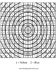 Small Picture Color By Number And Letter Coloring Pages With Hard By Number
