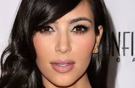 kim kardashian silver smokey eye makeup