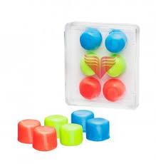 Купить <b>беруши для бассейна TYR</b> Youth Multi-Colored Silicone ...