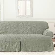 sure fit matelasse damask t cushion