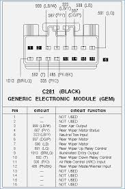 2002 ford explorer radio wiring diagram vehicledata co