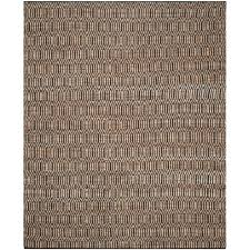 safavieh cape cod black natural 8 ft x 10 ft area rug