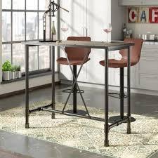 Narrow bar table Handmade Bespoke Melody Bar Table Allmodern Modern Bar Pub Tables Allmodern