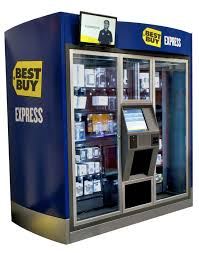 Best Buy Express Vending Machine Delectable Best Buy Launches Vending Machines Selling Headphones MP48 Players