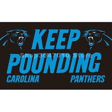 carolina panthers garden flag. KEEP POUNDING Carolina Panthers Flag Garden N