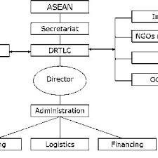 Proposed Organization Chart Of Drtlc Legend Drtlc Disaster