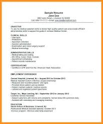 4 5 Examples Of Medical Assistant Resumes Wear2014 Com