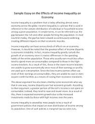 income distribution essay income distribution high school economics topics library of