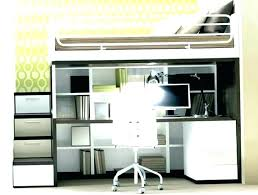 H Full Loft Bed With Desk Underneath Size Bunk Amazing Beds Desks Combo Canada  Cool