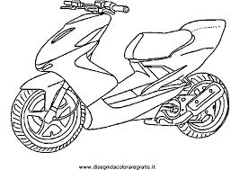 G Nial Scooter 3 Roues Coloriage