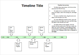 Free Timeline Template. Timelineinfographic Free Infographic ...