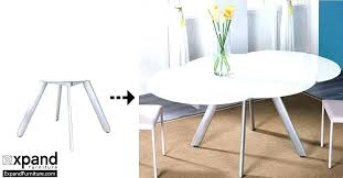 dining tables glass extending dining tables round table extraordinary extendable brilliant tab