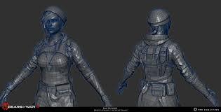 Kait Diaz Outsider - Gears of war 4 ...