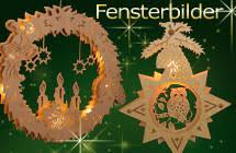 Weihnachts Artikel Fensterbilder Beleuchtet