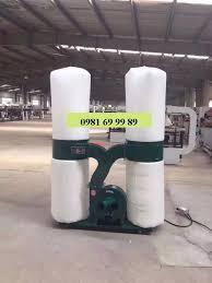 Máy hút bụi công nghiệp 2 túi vải hút nhà xưởng, máy cnc