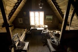enchanting rustic attic bedroom design with natural brown wooden ideas of the room and brown wooden attic furniture ideas