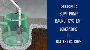 backup generator for sump pump. Exellent Sump Choosing A Sump Pump Backup System And Backup Generator For Sump Pump W