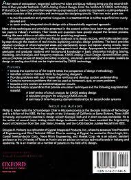 Cmos Analog Circuit Design Allen Holberg 2nd Edition Cmos Analog Circuit Design Allen Holberg Projeto De