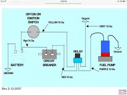 Wiring Diagram For Electric Fuel Pump Mercruiser Fuel Pump Diagram