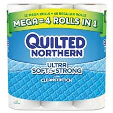 Bathroom Tissue Impressive Amazon Quilted NorthernR Ultra Soft StrongR 48Ply Bathroom