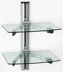 wall mount glass shelves ...