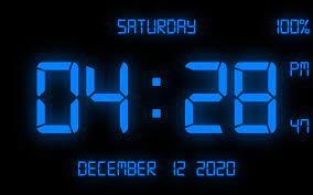 Digital Clock Wallpapers on WallpaperDog