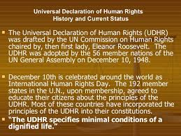 an introduction to human rights universal declaration of human rights