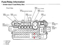fuze panel on 04 ford mustang 96 Honda Accord Fuse Box Diagram honda accord wiring diagram further honda prelude fuse box diagram 1996 honda accord fuse box diagram