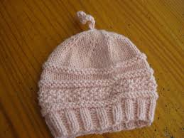 Newborn Baby Hat Knitting Pattern