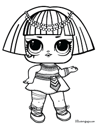 Coloring Pages Lol Doll Coloring Pages 8 Dawn Lol Doll Coloring