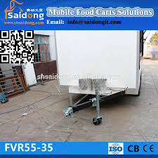 Camper Trailer Kitchen Designs New Condition Food Caravan Camper Trailer Fast Food Kiosk For Sale