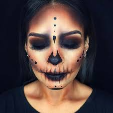 dark skull for creepy makeup ideas