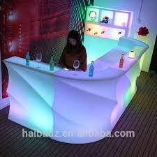 luminous salon led coffee furniture led