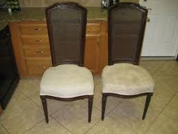 thomasville cane back dining room chairs sante