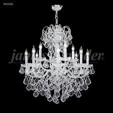 vienna 12 glass arm chandelier